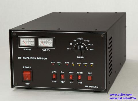 Solid State HF linear amplifier DN-600
