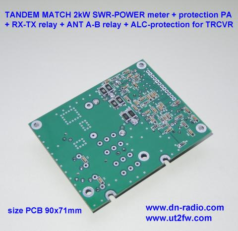 TANDEM MATCH 2kW SWR POWER meter protection image 3