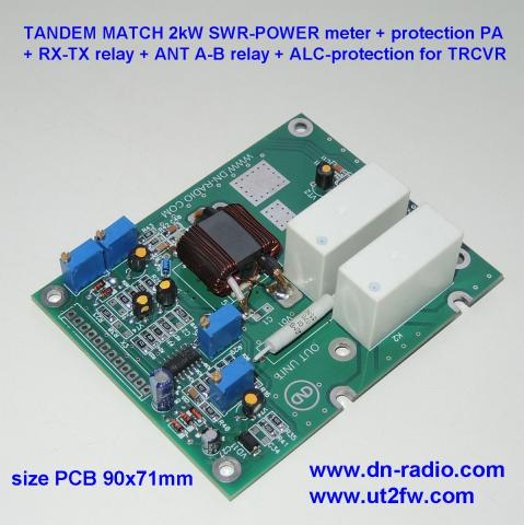 TANDEM MATCH 2kW SWR POWER meter protection image 2