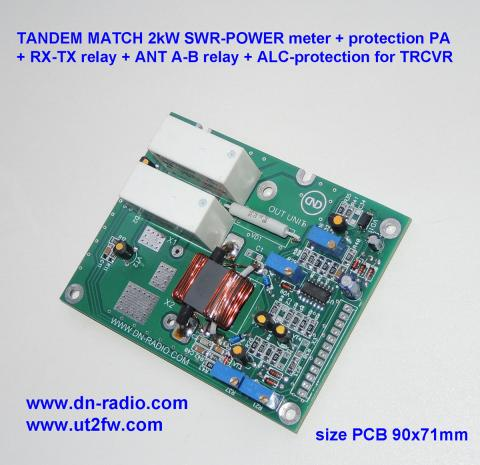 TANDEM MATCH 2kW SWR POWER meter protection image 1