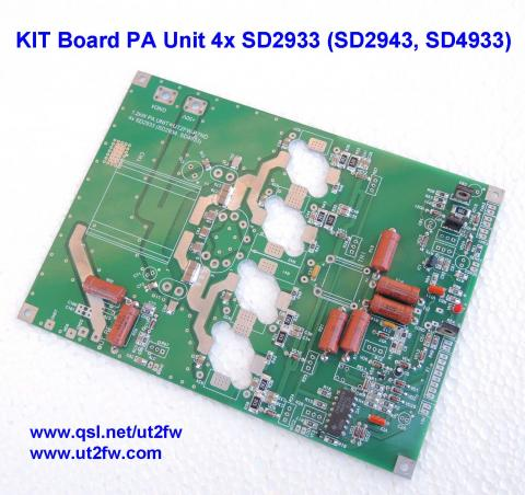 KIT PA Unit 900-1000W PEP Linear Amplifier DN-600 4x SD2933, SD2943, SD4933 image 3