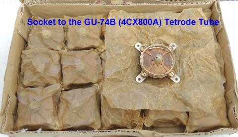 Brand New Socket SK1A to the GU-74B / 4CX800A tube image 3